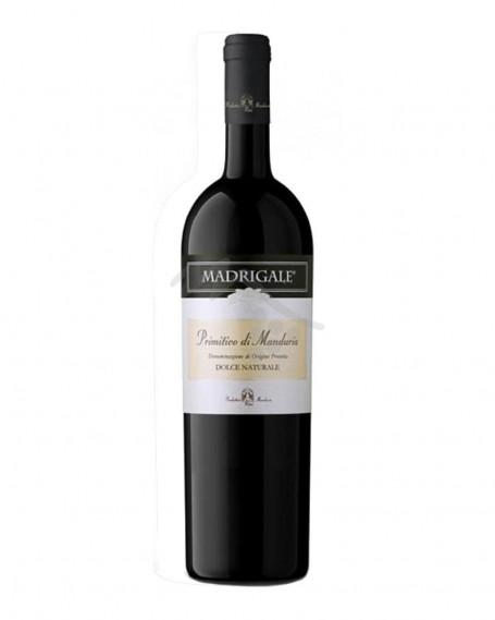 Madrigale 2014 Primitivo Dolce Naturale Produttori Vini Manduria
