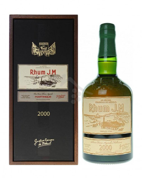 Rum J.M Millèsime 2000 Rhum JM