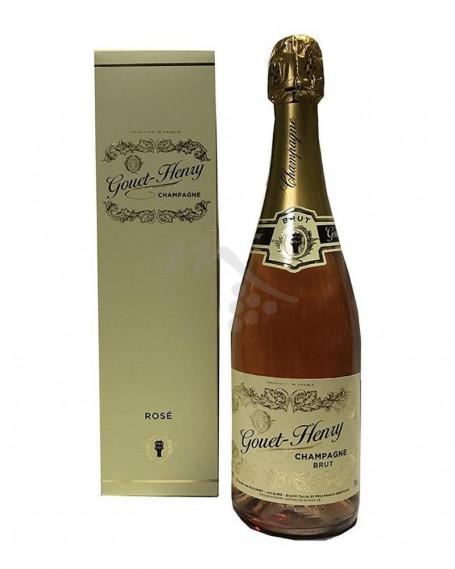 Champagne Gouet-Henry Brut Rosè Astuccio