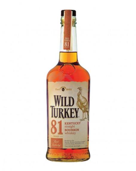 Wild Turkey 81 Proof Kentucky Straight Bourbon Whiskey