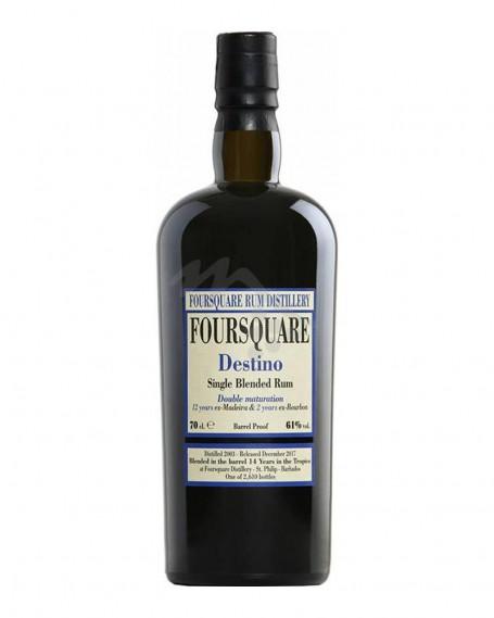 Destino Single Blended Rum Double Maturation Foursquare Rum Distillery