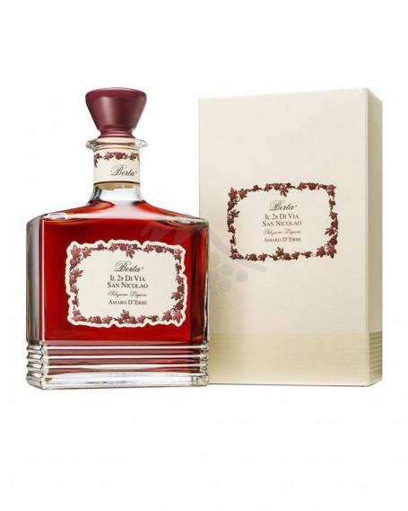 Il 28 Di Via San Nicolao Amaro d' Erbe Distillerie Berta - Astucciato