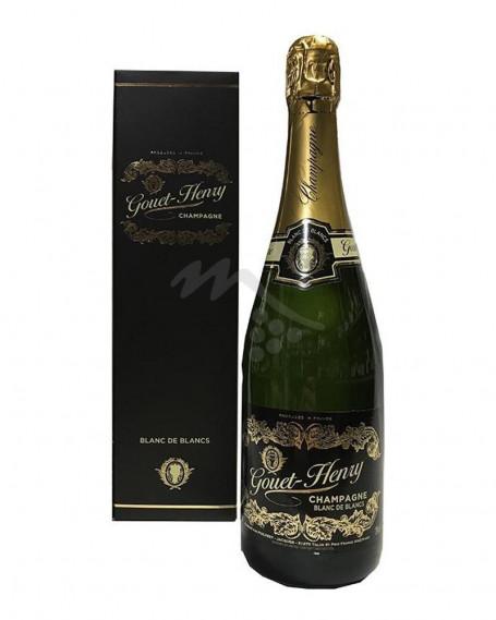 Champagne Gouet-Henry Brut Blanc de Blanc Astuccio