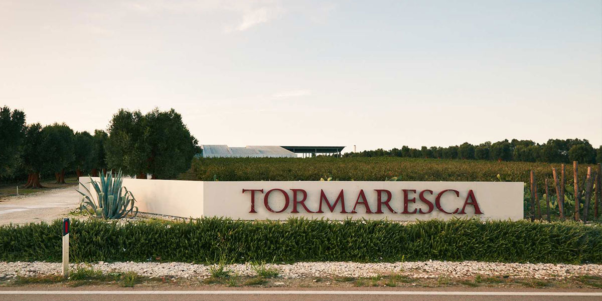 Tormaresca Masseria Maime Salento Puglia