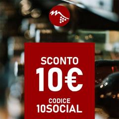 10€ di sconto aggiuntivo per te