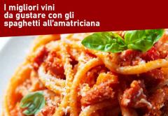 Abbinamenti: i migliori vini rossi da gustare con gli spaghetti all'amatriciana